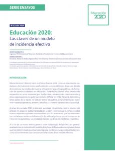 Foto de Educación 2020: Las claves de un modelo de incidencia efectivo