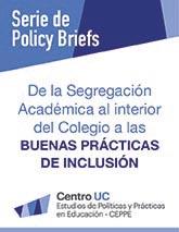 De la segregación académica al interior del colegio a las buenas prácticas de inclusión
