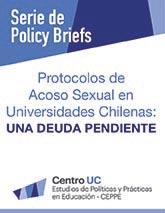 Protocolos de acoso sexual en universidades chilenas: una deuda pendiente