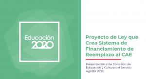 Foto de Presentación ante Comisión de Educación sobre crédito que reemplaza al CAE
