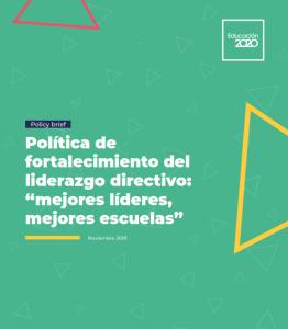 Foto de Política de fortalecimiento del liderazgo directivo: Mejores líderes, mejores escuelas