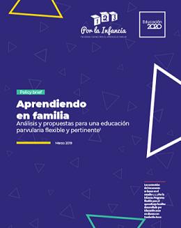 Policy Brief: Aprendiendo en familia