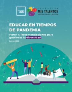 Foto de Educar en tiempos de pandemia. Parte IV: Recomendaciones para gestionar la diversidad