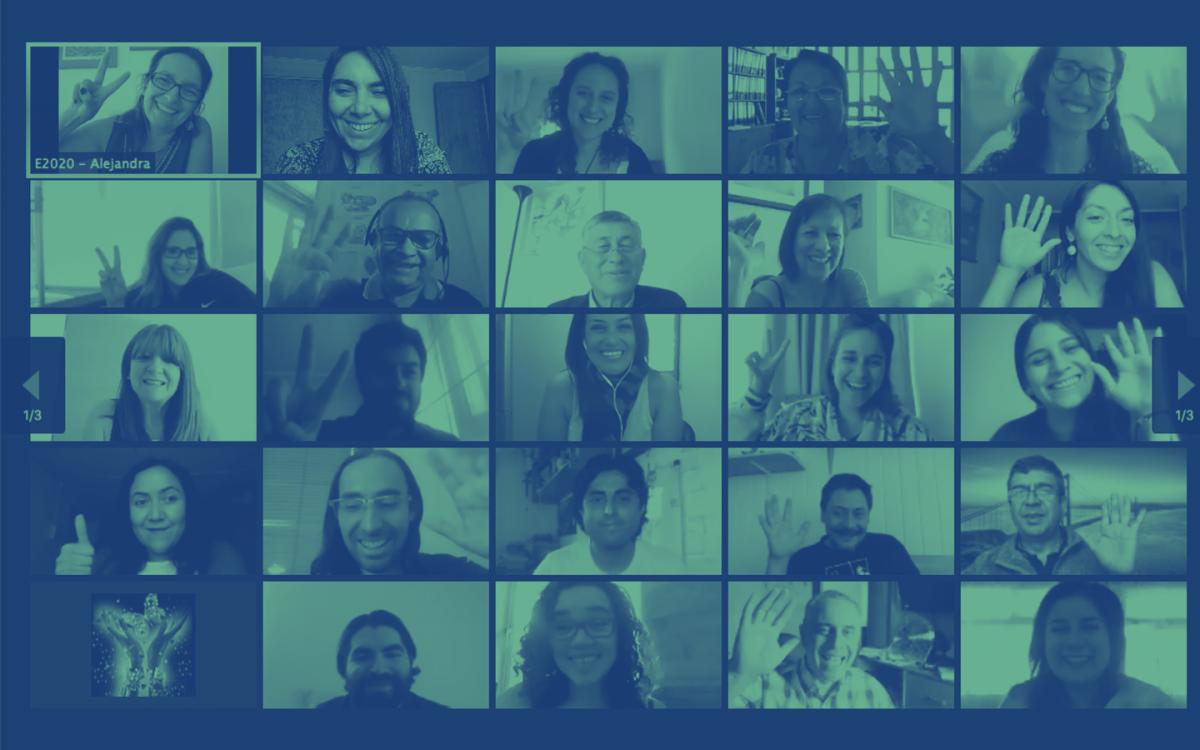 """Foto post: """"Menos competencia, más colaboración"""": 40 directores de escuelas reúnen para compartir aprendizajes en pandemia"""