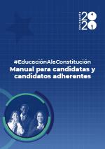 Foto de #EducaciónALaConstitución: Manual para candidatos y candidatas adherentes